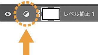 塗りつぶしまたは調整レイヤーを新規作成ボタン