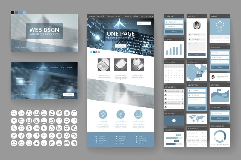 グラフィックデザインの例